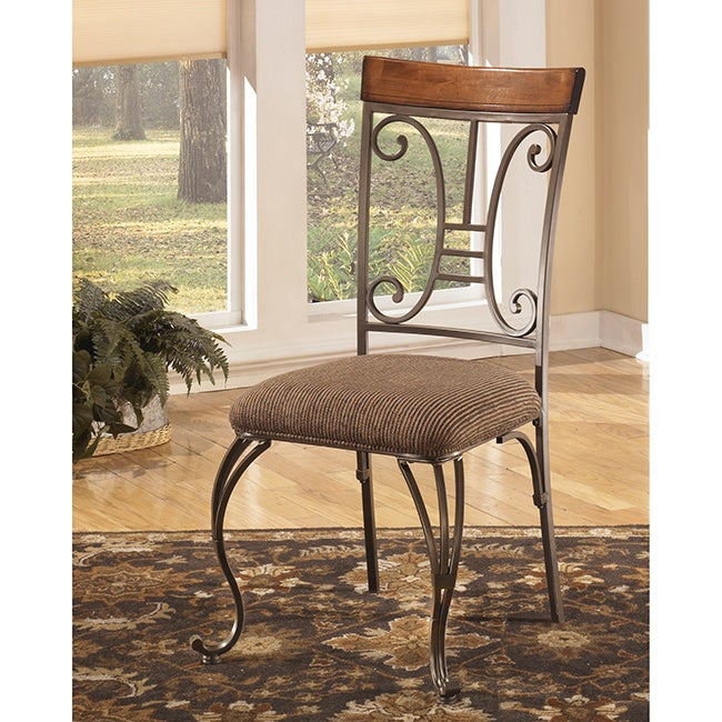 Signature Design by Ashley 'Plentywood' Brown Dining Side Chair (Set of 4)