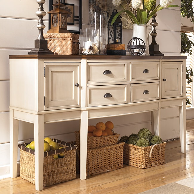 Signature Design by Ashley 'Whitesburg' Two-tone Dining Room Server