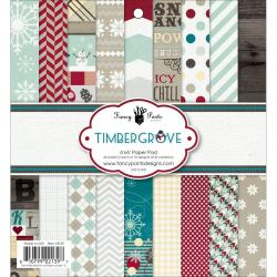 Timbergrove Paper Pad 6 X6 36/Sheets - 18 Designs/2 Each