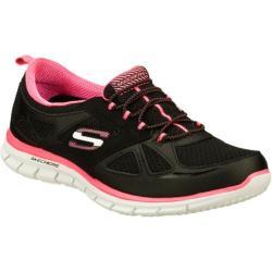 Women's Skechers Glider Lynx Black/Pink