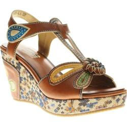 Women's Spring Step Socialite Camel Leather