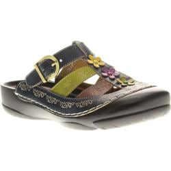 Women's Spring Step Toby Navy Leather