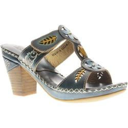 Women's Spring Step Tortuga Navy Leather
