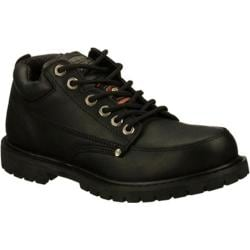 Men's Skechers Work Relaxed Fit Cottonwood SR Black