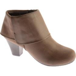 Women's Mootsies Tootsies Baunice Brown/Brown Synthetic