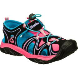 Girls' Skechers Cape Cod Black/Pink