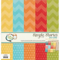 Daily Grind Simple Basic Paper Kit 12 X12 6/Sheets -
