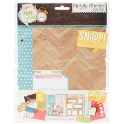 Sn@p! Double-Sided Journal Pages 6 X8 12/Pkg - Daily Grind