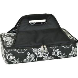 Picnic at Ascot Insulated Casserole Carrier Night Bloom