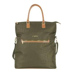 Anne Klein Jungle 20in Overnight Tote Olive