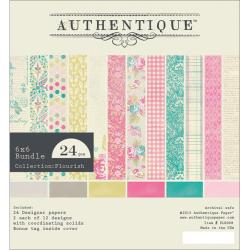 Flourish Bundle Cardstock Pad 6 X6 24/Sheets - 12 Double-Sided Designs/2 Each