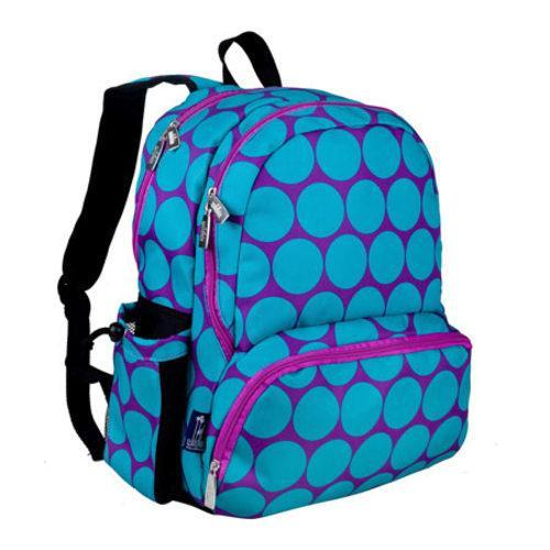 Children's Wildkin Megapak Backpack Big Dot Aqua