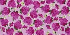Decopatch Paper 15.75 X11.75 3 Sheets/Pkg - Pink Roses