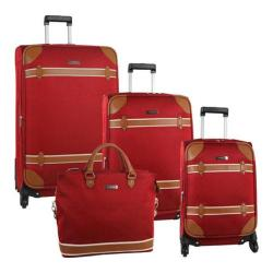Anne Klein Vintage Edition Four Piece Set Red