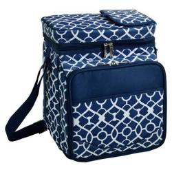 Picnic at Ascot Picnic Cooler For Two Trellis Blue
