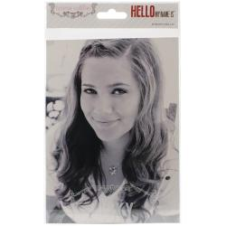 Hello My Name Is Photo Overlays -