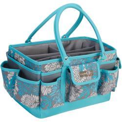 Everything Mary Scrapbook Organizer - 14.5 X9.5 X7.25 Blue & Gray