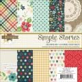 Homespun Paper Pad 6 X6 24/Sheets - Double-Sided