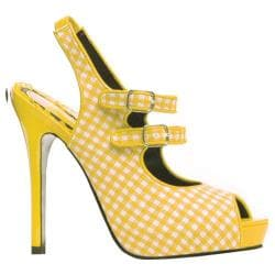 Women's Bettie Page Pinky Yellow