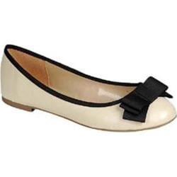 Women's Beston Alice-31S Beige Faux Leather