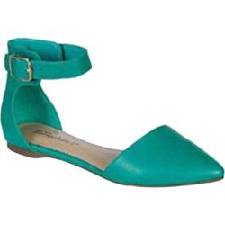 Women's Beston Diane-22 Aqua Faux Leather