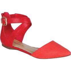 Women's Beston Diane-23 Peach Faux Leather