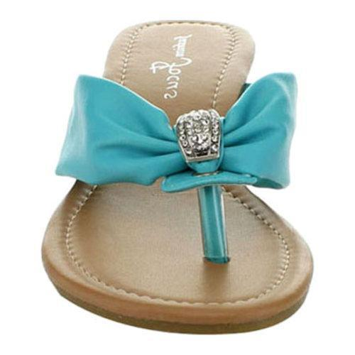 Women's Wild Diva Kava-21 Teal Faux Leather