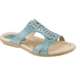 Women's Earth Lagoon Teal Full Grain Leather