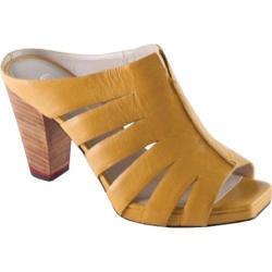 Women's Oh! Shoes Pinta Yellow Vachetta