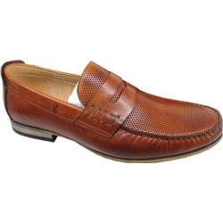 Men's Steve Madden Wonder Tan Embossed Leather
