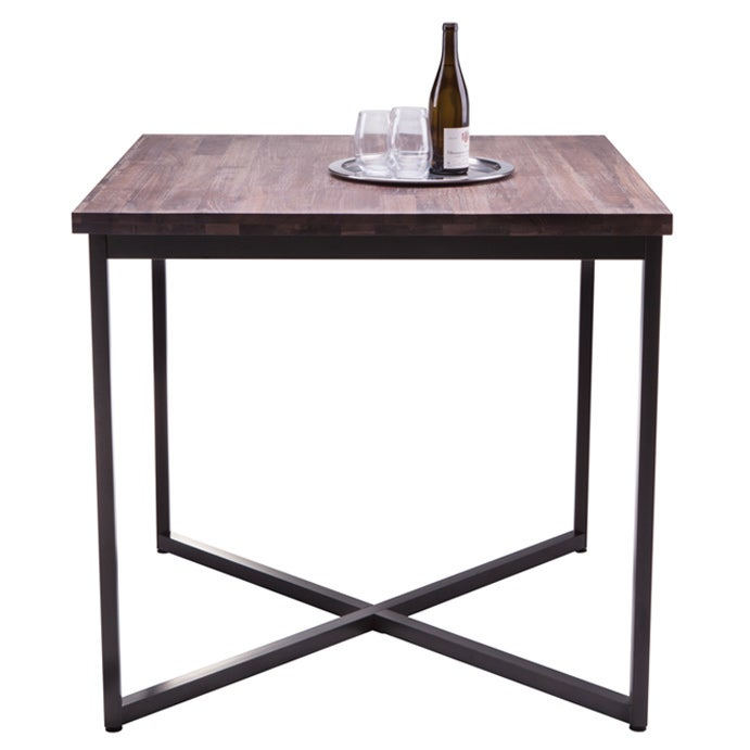Sunpan Porto Distressed Walnut Bar Table