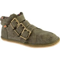 Women's Rocket Dog Willis Olive Aviator Canvas