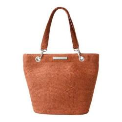 Women's Betmar Braid Tote Rust