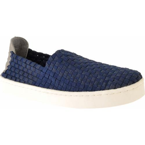 Women's Steve Madden Exx Navy Synthetic