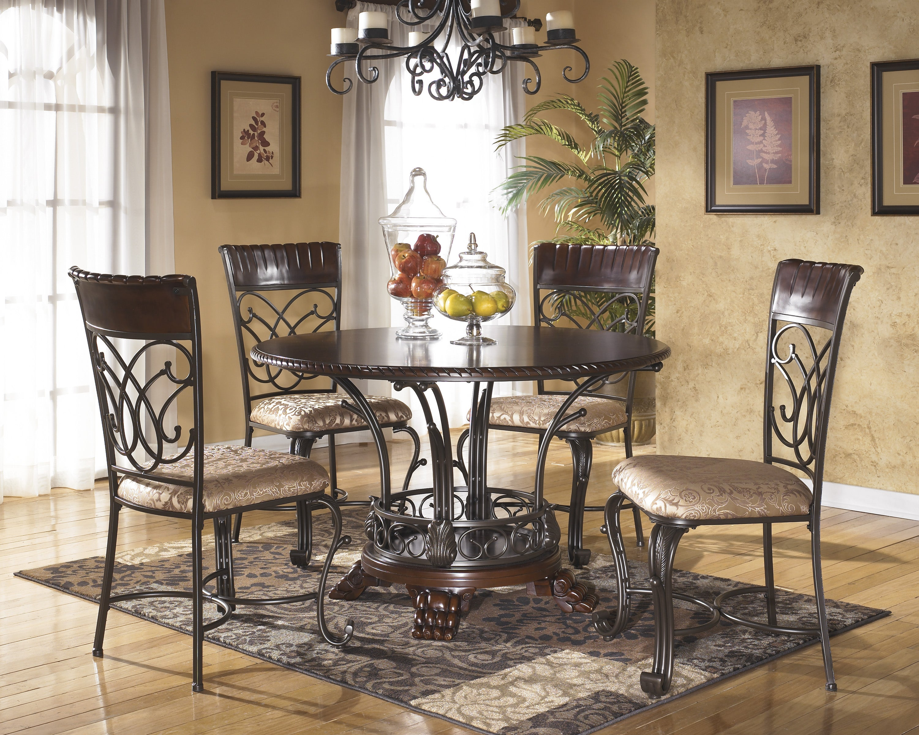 Signature Designs by Ashley Alyssa Round Dining Room Table