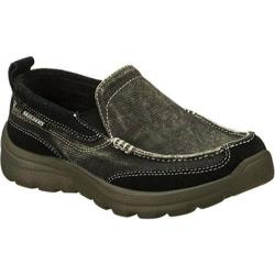 Boys' Skechers Relaxed Fit Superior Melvin Black