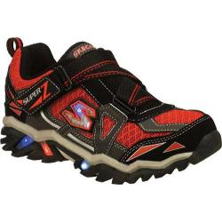 Boys' Skechers S Lights Pillar 2.0 Hawk Black/Gray