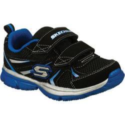 Boys' Skechers Speedees Burn Outs Black/Blue