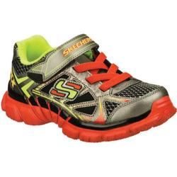 Boys' Skechers Tough Trax Silver/Red