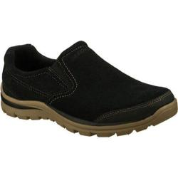 Men's Skechers Relaxed Fit Superior Refiner Black/Natural