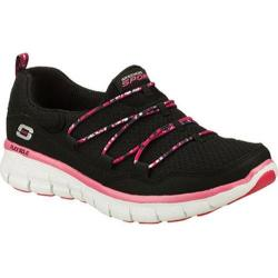 Women's Skechers Synergy Good Stuff Black/Pink