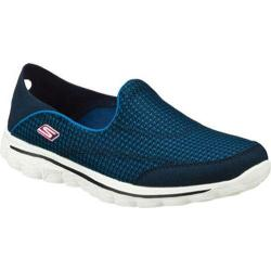Women's Skechers GOwalk 2 Convertible Navy/Pink