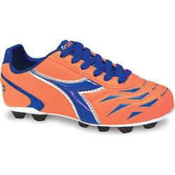 Children's Diadora Capitano MD JR Orange/Blue