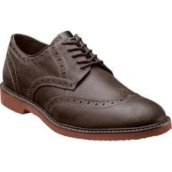 Men's Nunn Bush DePere Brown Smooth Leather