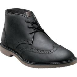 Men's Nunn Bush Dodge Black Smooth Leather