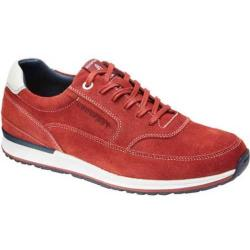 Men's Rockport CSC Mudguard Oxford Red/White Leather