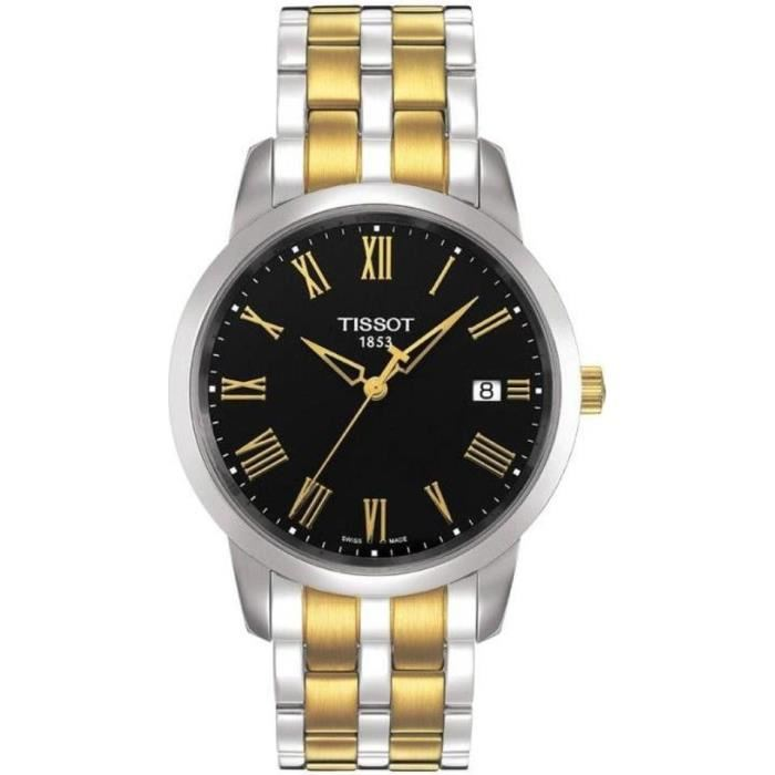 Tissot Men's T0334102205301 T-Classic Dream Two Tone Stainless Steel Watch