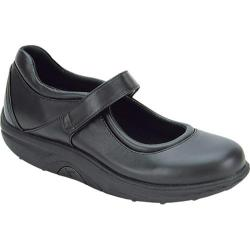 Women's Aetrex Bodyworks Classic Mary Janes Black Leather
