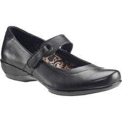 Women's Aetrex Essence Theresa Mary Jane Black Leather