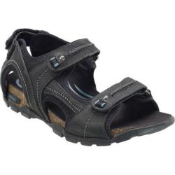 Men's Aetrex Largo Black Leather